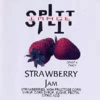 Split image - Strawberry Jam