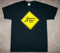 Slippery When Wet t-shirts! sizes S-XL